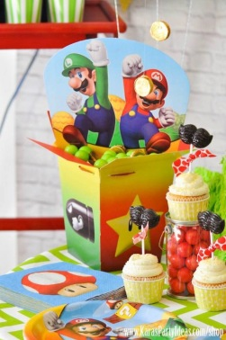 Mario Themed Birthday Party via Karas Party Ideas www KarasPartyIdeas com 39