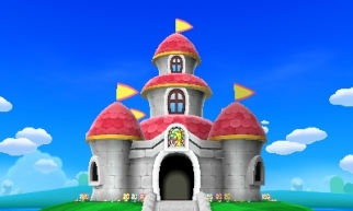 Peach s castle mario and luigi paper jam by banjo2015 d9lcc7c